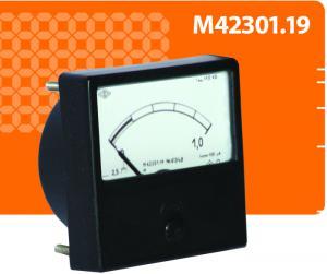 Прибор постоянного тока и напряжения М42301.19 для эксплуатации в суровых условиях