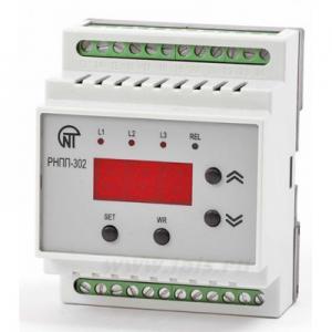 Реле напряжения и контроля фаз РНПП-302